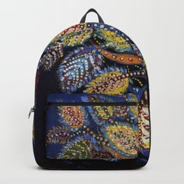 Blue Leaves of Autumn by Seraphine Louis Backpack