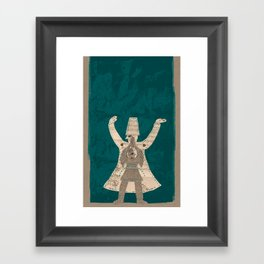 There is another me, deep inside of me Framed Art Print