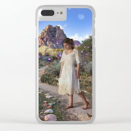 Ogre's Daughter Clear iPhone Case
