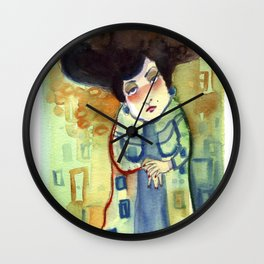 Lady Wall Clock