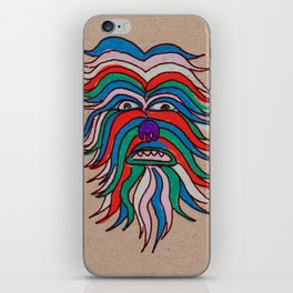 whacky wookie iPhone Skin