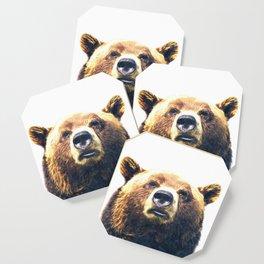 Bear portrait Coaster