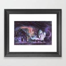 Spirited Away Framed Art Print
