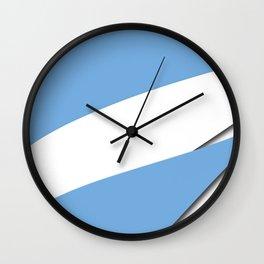 Team Argentina #russia #football #worldcup #soccer #fan Wall Clock