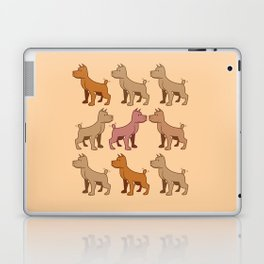 Nine dogs  Laptop & iPad Skin