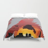 king Duvet Covers featuring King by ChrisLufthound