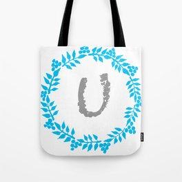 U White Tote Bag
