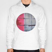 memphis Hoodies featuring Memphis Window by wendygray