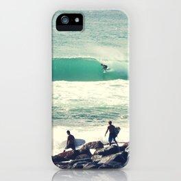 Morning Barrel iPhone Case