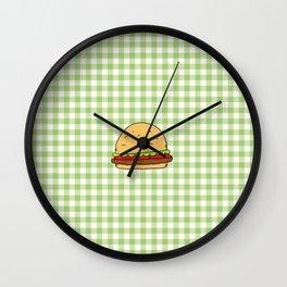 Hamburguer Wall Clock