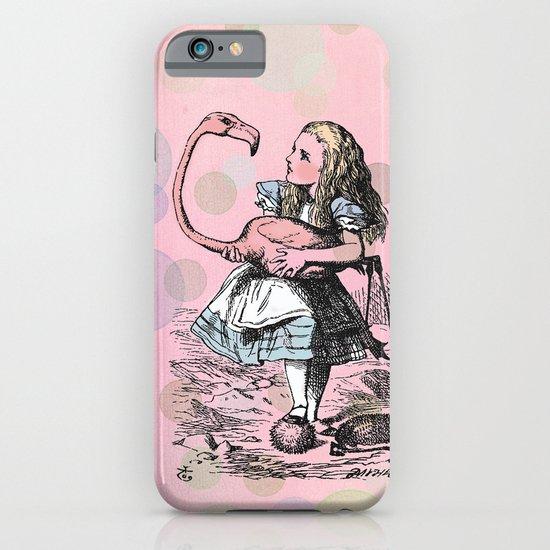 Alice plays Croquet iPhone & iPod Case