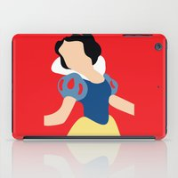 snow white iPad Cases featuring Snow White by Adrian Mentus