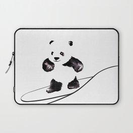 Surfing Panda Laptop Sleeve