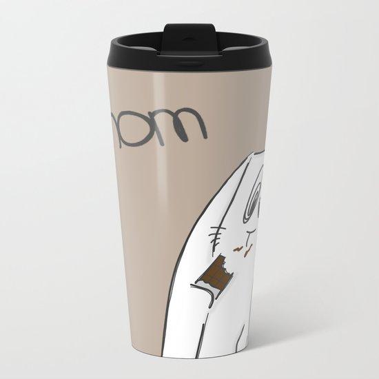 Nom, nom, nom #2 Metal Travel Mug