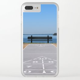Symmetry of The Chesapeake Bay Clear iPhone Case