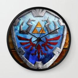 The Hylian Shield Wall Clock