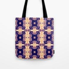 bubble coral mandala Tote Bag