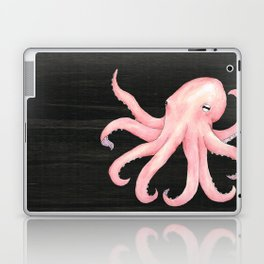 Pink Octopus Laptop & iPad Skin