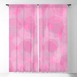 Pink Bubbles 3 Blackout Curtain