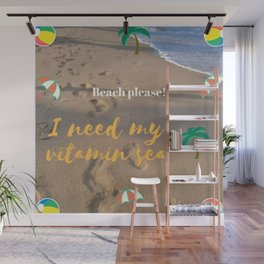 ¡Playa por favor! | Beach please! Wall Mural