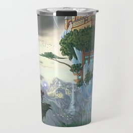 Sky Fortress Travel Mug