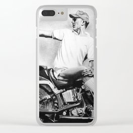 Hunter S. Thompson Clear iPhone Case