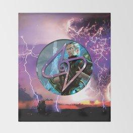 Ral Zarek the Lightning Bender Throw Blanket