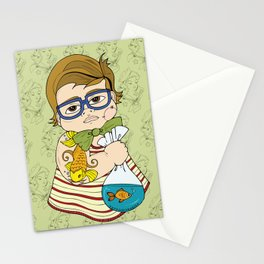 Tattooed Baby 003 Stationery Cards