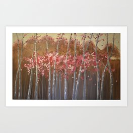 Blooming With Love Art Print