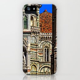 Renaissance Architecture in Florence iPhone Case