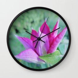 tender begining Wall Clock