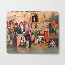 Ganges Metal Print