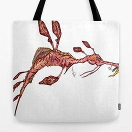Sea Horse Tote Bag