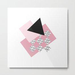 Pink - Abstract Metal Print