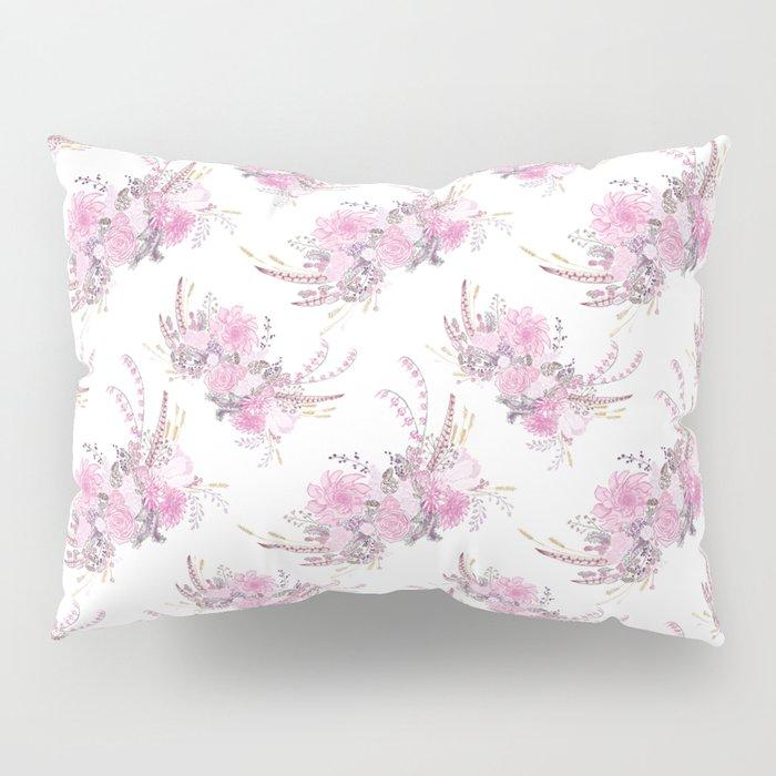 Fleurs No. 1, in Blush Pillow Sham