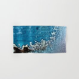 Then the Glassy Ocean Blushed Hand & Bath Towel