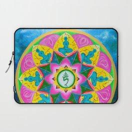 Mandala of Green Tara Laptop Sleeve