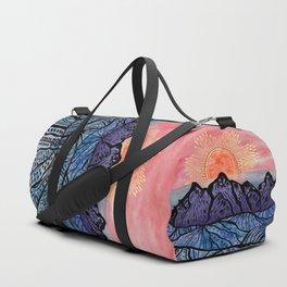Royal Sunset Duffle Bag