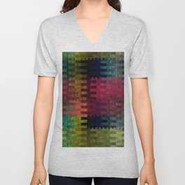 Abstract 148 Unisex V-Neck