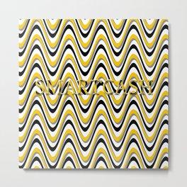 SmartCash Wave Metal Print