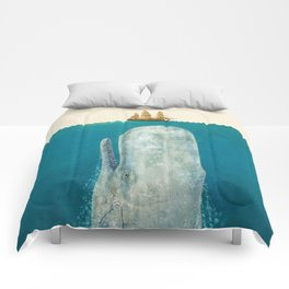 The Whale - colour option Comforters