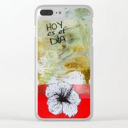 Cotica N°102 Clear iPhone Case