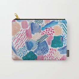 Abstract mark making pattern Carry-All Pouch