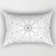 mandala art - floral Rectangular Pillow
