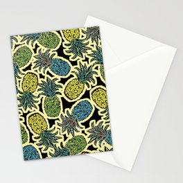 Pineapple Pandemonium - Retro Tones Stationery Cards