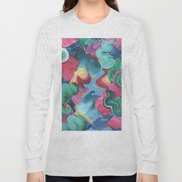 Abstraction #2 Long Sleeve T-shirt