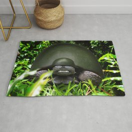 Slow Commando - Army Turtle Rug