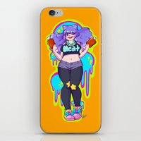 meat iPhone & iPod Skins featuring MEAT by Ferret Party