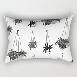 just hanging out(side) Rectangular Pillow