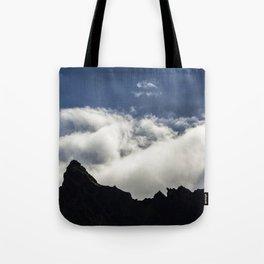 Mountain shadows Tote Bag